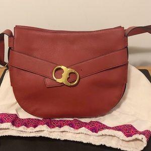 Tory Burch Gemini Link Shoulder Bag, Red